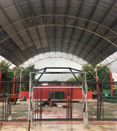 Autorizan dar urgente mantenimiento a los domos de Puerto Morelos y Leona Vicario