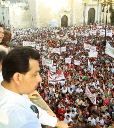 Anuncia Gobernador de Yucatán que dará su informe por internet y sin anuncios publicitarios