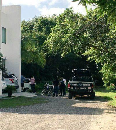 PRIMER SUICIDIO DEL 2017 EN CANCÚN: Un ingeniero en sistemas se cuelga de un árbol en Residencial Malibú