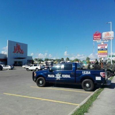 ACTIVAN ALERTA POLICIACA EN CHETUMAL: Ante convocatoria para protestar en plaza Las Américas por gasolinazo, patrullas vigilan la zona