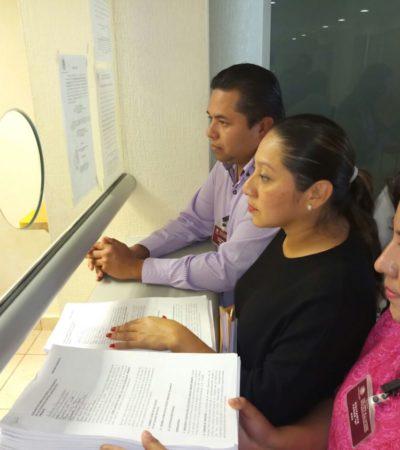 Presenta PRD los primeros 70 amparos en Cancún contra el gasolinazo