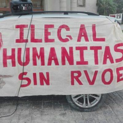Denuncian alumnos irregularidades en la Universidad Humanitas de Cancún