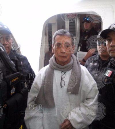 MARIO VILLANUEVA YA ESTÁ EN MÉXICO: Ex Gobernador de Quintana Roo arriba al aeropuerto de la CDMX tras años de prisión en EU