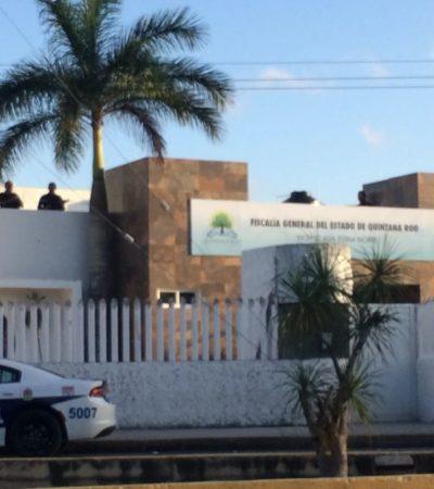 ALERTA DE ATAQUE EN LA FISCALÍA: Llamada activa las alarmas y desalojan corporación en Cancún; colocan a francotiradores en el techo; fue falsa alarma: autoridad