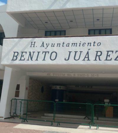 Desalojan en sábado Ayuntamiento de Cancún por supuesta amenaza de bomba
