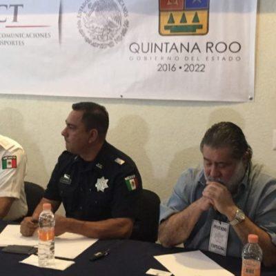 Polemizan por Uber en reunión de transportistas con la policía federal y la AMAV en Cancún
