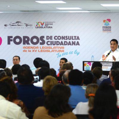 FORO PARA DEFINIR AGENDA DEL CONGRESO: Plantean ciudadanos propuestas de ley y reformas a diputados