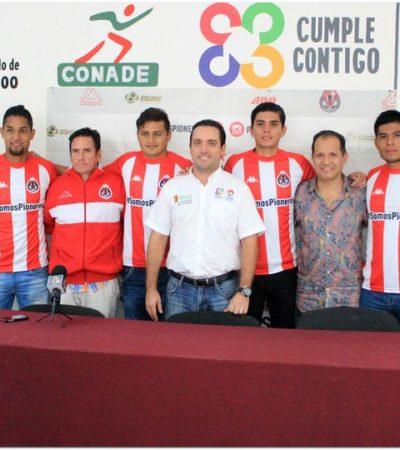 Mario García es nombrado director técnico del equipo de futbol Pioneros de Cancún