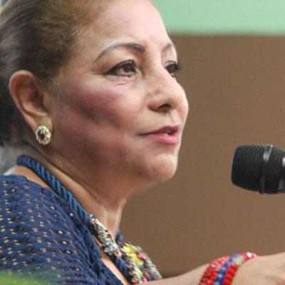 Desmiente Rosario Ortiz Yeladaqui renuncia al PRI, pero anticipa que quiere ser candidata a algo