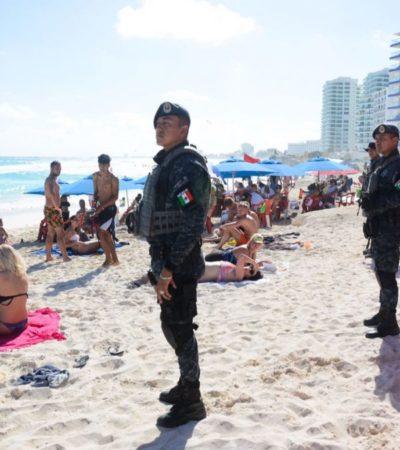 REFUERZAN SEGURIDAD CON MÁS FEDERALES: Tras balaceras en Playa y en Cancún, confirman arribo de 300 elementos de la Gendarmería