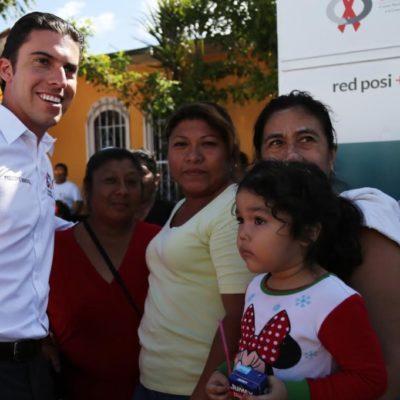 """Anuncia Alcalde """"inversión histórica"""" de 39 mdp para pavimentar toda la Región 219 de Cancún"""