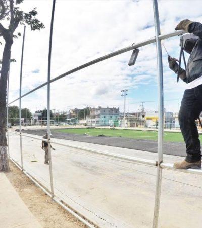 Destaca Remberto Estrada impulso al deporte en sus primeros 100 días de Gobierno en Cancún