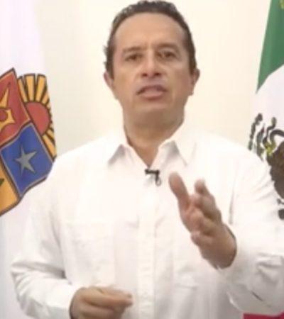 """ATAQUE EN EL BLUE PARROT, """"CONFLICTO DE INTERESES ENTRE DOS"""", DICE GOBERNADOR: Ofrece Carlos Joaquín """"investigación muy clara"""" y castigar a culpables"""