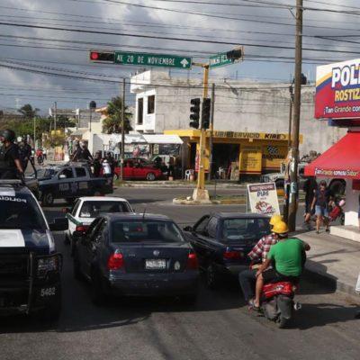 Confirma Alcalde que se redobló vigilancia en plazas comerciales, escuelas, supermercados y en las colonias de Cancún