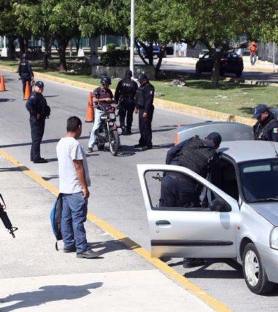 Refuerzan vigilancia en puntos estratégicos de Cancún