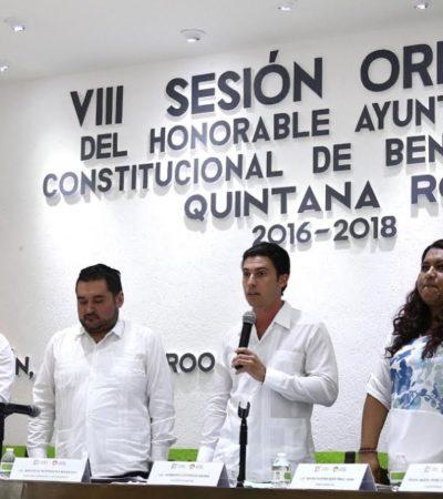 Aprueba Cabildo de BJ dar continuidad a la regularización de tierras en Alfredo V. Bonfil