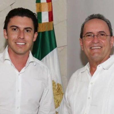 Se reúne Alcalde Remberto Estrada con secretario de Gobierno en Cancún; ratifican acuerdos de colaboración