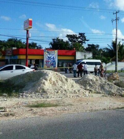 REPORTAN ROBO CON VIOLENCIA EN CANCÚN: Alerta por disparos en la Avenida Huayacán y un hombre herido por un cachazo