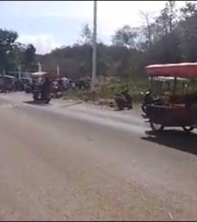 LEVANTAN CAMPESINOS BLOQUEO EN MORELOS Y FCP: Alcanzan ejidatarios del Kilómetro 50 acuerdo con gobiernos estatal y municipal