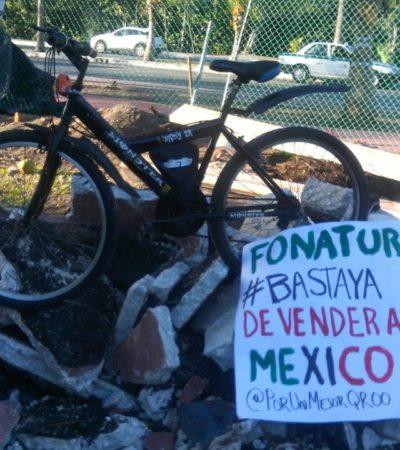 Pide secretaria de Turismo resolver a favor del bien común en el caso de la destrucción de ciclopista en Cancún