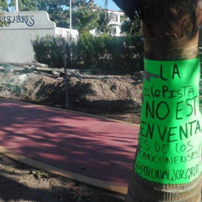 Esperan activistas resolución positiva para ciclopista tras reunión con delegado de Fonatur
