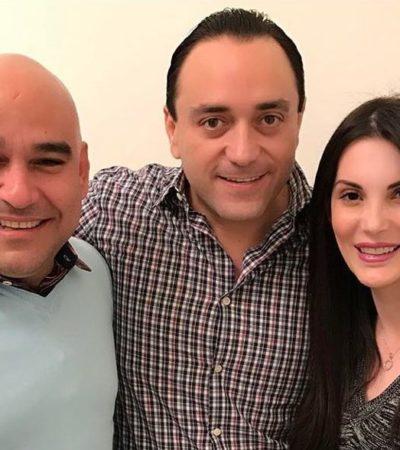 'BETO' Y HERIBERTO, JUNTOS Y SONRIENTES: Reaparición 'fugaz' del ex Gobernador con el polémico ex director del diario 'Respuesta' enciende las redes