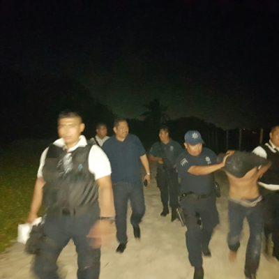 Detienen a hombre que violó a una joven e intentó matarla en las inmediaciones del hotel Coco Beach en Playa del Carmen