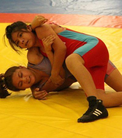 Arrasan deportistas tulumnenses en competencia estatal de Judo y Luchas Asociadas al obtener 62 medallas.