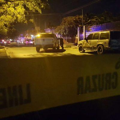 CIERRA LA NOCHE CANCÚN CON MÁS BALEADOS: Al bajar de taxi, agreden a una pareja en la Región 94