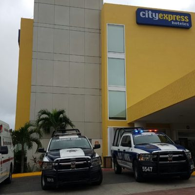 Por causas naturales, fallece extranjero nonagenario en hotel de Cancún