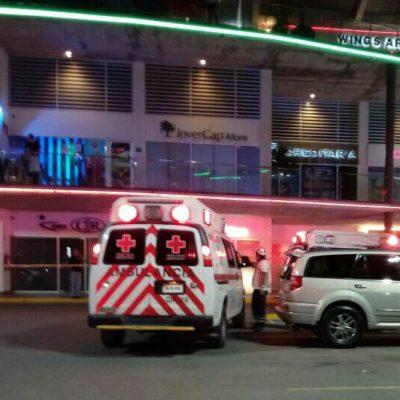 EJECUCIÓN EN PLAZA SOLARE: Asesinan a balazos a un hombre en el interior de antro; es el tercero del año en Cancún