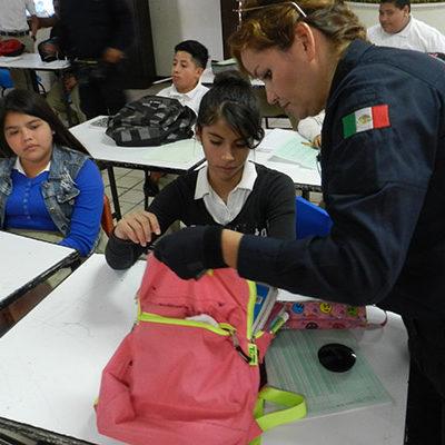 Se pronuncia Derechos Humanos contra la implementación de los 'operativos mochila' en las escuelas de QR