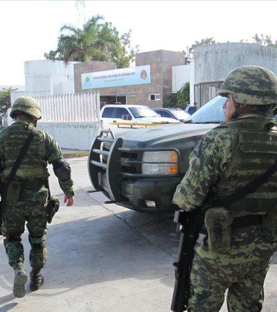 OPERA UN TERCER CÁRTEL EN QR: Podrían o no estar detrás de ataques a Blue Parrot y la Fiscalía, dice General