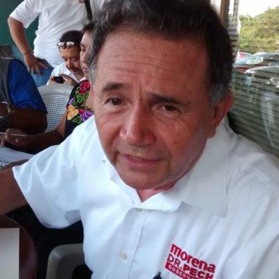 Niega Pech Várguez acuerdos con personas o grupos políticos para participar en Morena