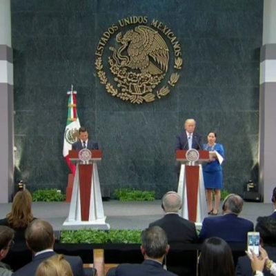 Confirman visita oficial de Peña Nieto a Trump para el 31 de enero