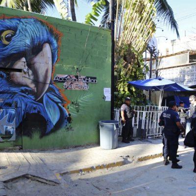 Ventilan cierre de negocios en Playa del Carmen por amenazas del narco