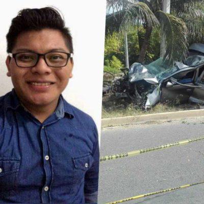 REPORTÓ QUE LO PERSEGUÍAN TAXISTAS Y SINTRA… SE ESTRELLÓ: Era chofer de Uber, joven muerto en accidente en carretera a Punta Sam