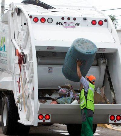 """""""ANTES EL CAMIÓN CASI NO PASABA"""": Mejora el servicio de recolección de la basura en Puerto Morelos"""