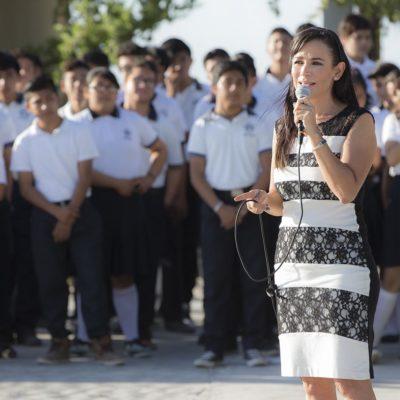 Celebran el XLIV aniversario de la emblemática Escuela Secundaria Técnica Pesquera #7 de Puerto Morelos