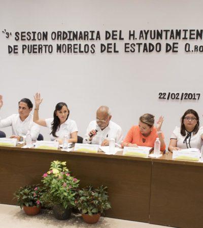 También en Puerto Morelos aprueban por unanimidad el Plan Municipal de Desarrollo