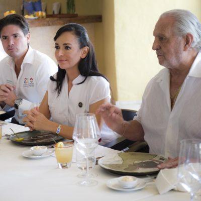 Ofrece Alcaldesa respaldar propuesta de hoteleros para mantenimiento de playas en Puerto Morelos