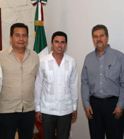 Se reúne Remberto Estrada con secretario de Medio Ambiente para revisar temas ecológicos en BJ