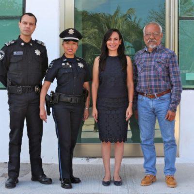 Trabajará Alcaldesa de Puerto Morelos en mayor coordinación con la policía federal