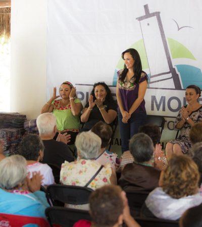 Anuncia Laura Fernández la remodelación de la Casa del Adulto Mayor 'Nohoch Uinic' en Puerto Morelos