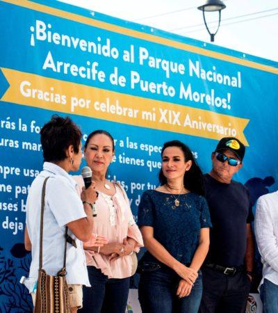 Buscarán certificación 'Bandera Blanca' en la 'Ventana al Mar' de Puerto Morelos