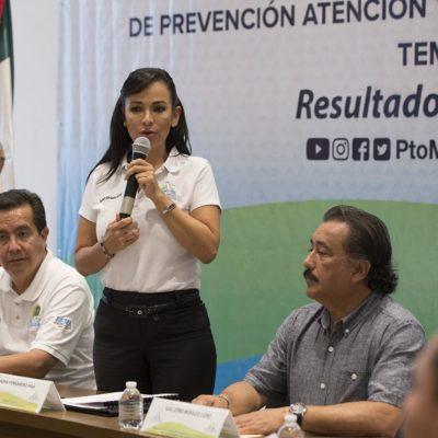 Puerto Morelos se declara listo para la temporada de incendios forestales