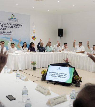 Aprueban el Plan Municipal de Desarrollo de Puerto Morelos