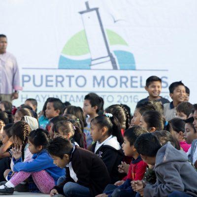 Abrirán nueva escuela primaria en Puerto Morelos