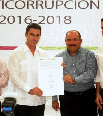 Se convierte Benito Juárez en el primer municipio en anunciar su Programa Municipal Anticorrupción