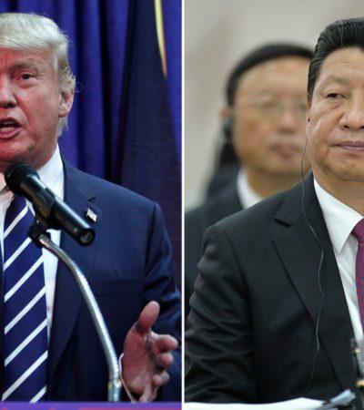 """LE SACÓ A PONERSE CON SANSÓN A LAS PATADAS: Asestan los chinos primera derrota diplomática a Trump; respetará la política de """"una sola China"""""""
